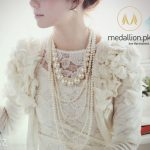 Multilayer Imitation Pearl Statement Necklace.-0