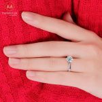 925 Sterling Silver Classic Style Ring.-390