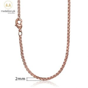 585 Rose Gold Plated Chain for Men/Women-0