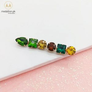 Colorful Crystal Fashion Hair Pin-0