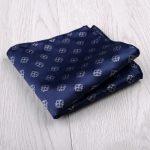 New Fashion handkerchief Bule Green Colorful Floral Paisley Pocker Square blue