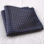 New Fashion handkerchief Bule Green Colorful Floral Paisley Pocker Square blue yellow